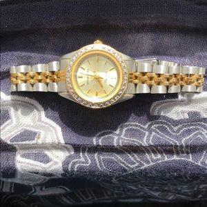 Vintage Pierre Cardin Diamond Watch